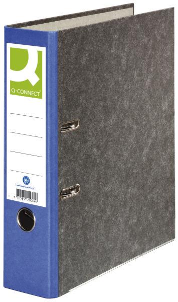 Q-CONNECT Ordner Pappe A4 80mm blau
