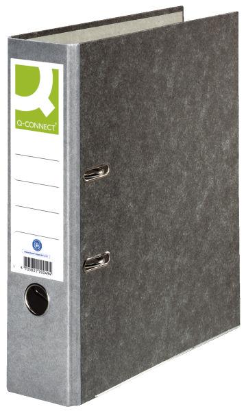Q-CONNECT Ordner Pappe A4 80mm grau