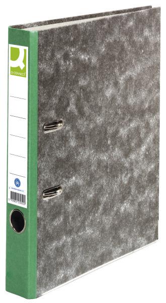 Q-CONNECT Ordner Pappe A4 50mm grün
