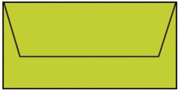 COLORETTI Briefhülle DL 5ST hellgrün