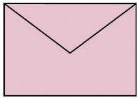 Briefhülle C6 5ST rosa