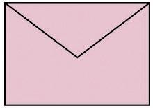 Briefhülle B6 5ST rosa