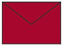 Briefhülle B6 5ST klatschmohn