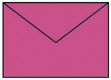 Briefhülle B6 5ST pink