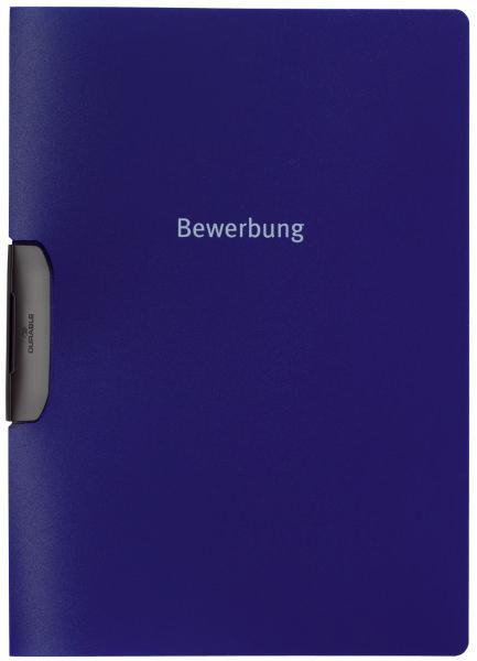 #5xBewerbungsmappe A4 dunkelblau