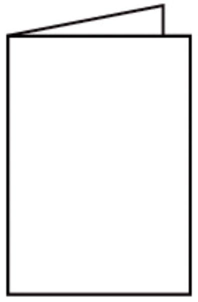 Briefkarte A6 HD 5ST weiß