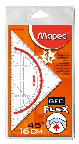Maped Geodreieck Geo-Flex, Hypotenuse: 160 mm