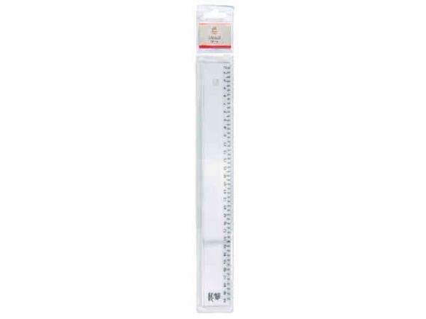 Kunststoff-Lineal 30cm Blisterpackung