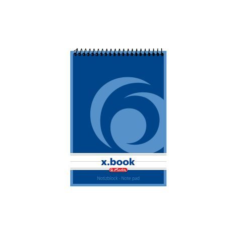 #10xNotiz-Spiralblock A6 40Bl Liniert