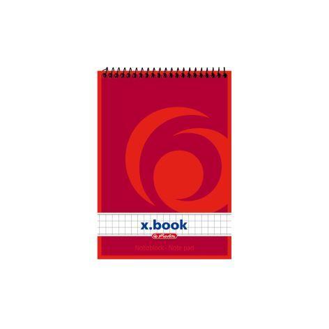#10xNotiz-Spiralblock A6 40Bl Kariert