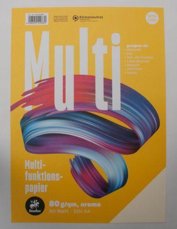 Multifunktions-Papier A4 80G 50Bl Creme