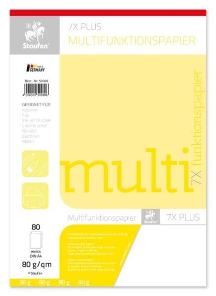 Multifunktions-Papier A4 80G 80Bl Weiss