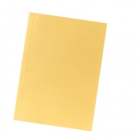 Aktendeckel A4 250G Karton gelb