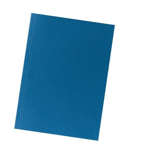 Aktendeckel A4 250G Karton blau