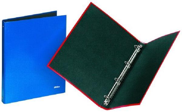 Milan Ringbuch A4 4Ring Reißmechanik blau PP-Folie  Mila...