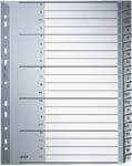 LEITZ Kunststoff-Register, A-Z, A5 quer, PP, 20-teilig, ...