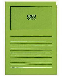 Projektmappe Elco Ordo Classico A4 120g grün Linienaufdr...