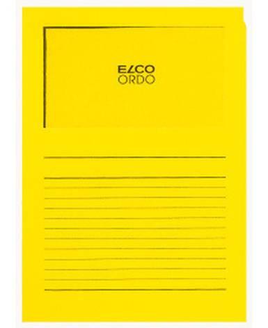 Projektmappe Elco Ordo Classico A4 120g intensiv gelb Li...