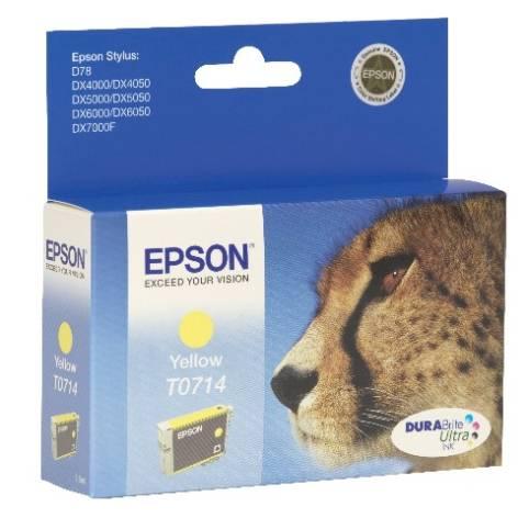 Inkjet Patrone Epson T071 T07144011 yellow DX4000 C13T07...