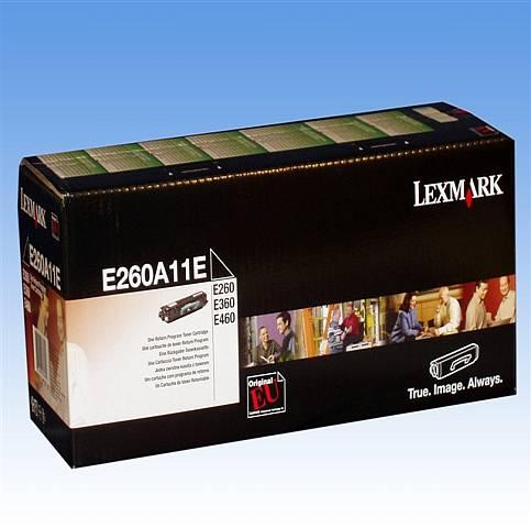 Toner Lexmark E260 ca. 3500 Seiten schwarz E260 E260A11E