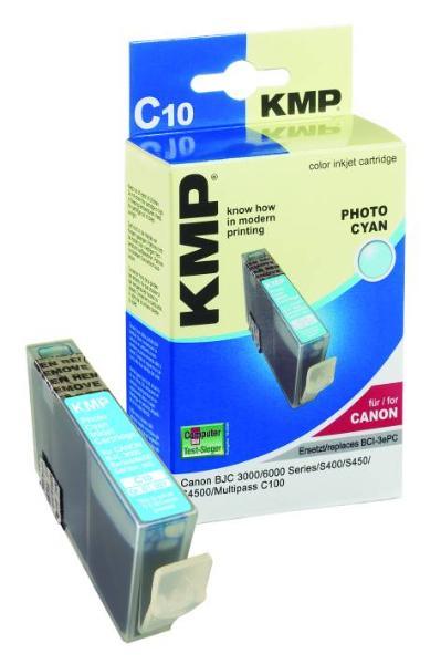 Tintenpatrone KMP C10 light cyan für Canon BCI-3ePC