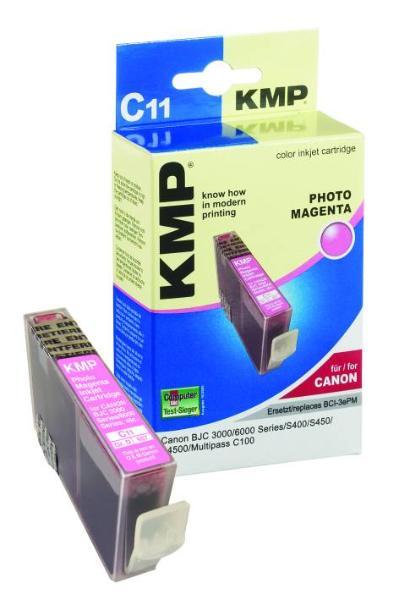 Tintenpatrone KMP C11 light magenta f.Canon BCI-3ePM