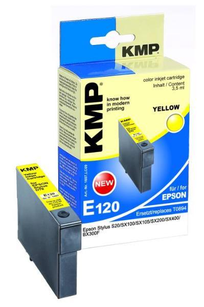 Tintenpatrone KMP E120 yellow für Epson T089440 * * Sola...
