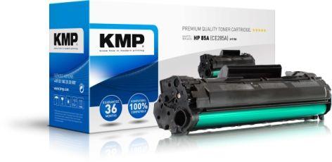 Toner KMP H-T154 65g schwarz für HP