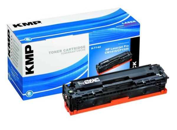 Toner KMP H-T144 schwarz für HP CE320A