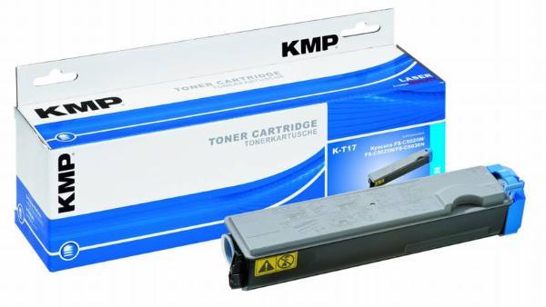 Toner KMP K-T17 cyan für Kyocera TK-510C