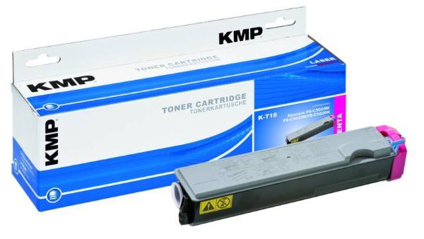 Toner KMP K-T18 magenta für Kyocera TK-510M