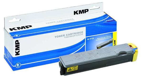 Toner KMP K-T19 yellow für Kyocera TK-510Y