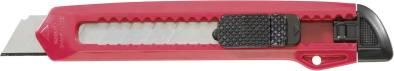Cutter 18mm Klinge Kunststoffgehäuse rot