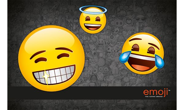 UNDERCOVER Schreibunterlage Emoji