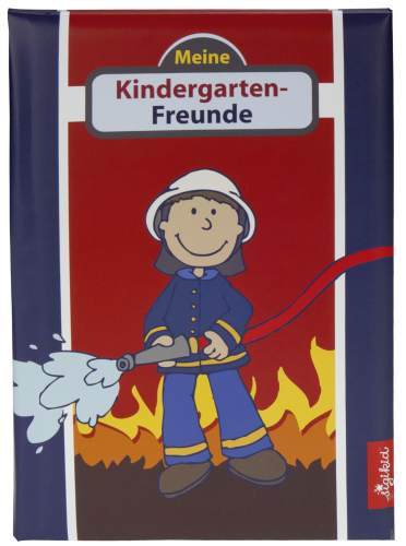 goldbuch Kindergarten-Freundebuch Frido Firefighter, A5