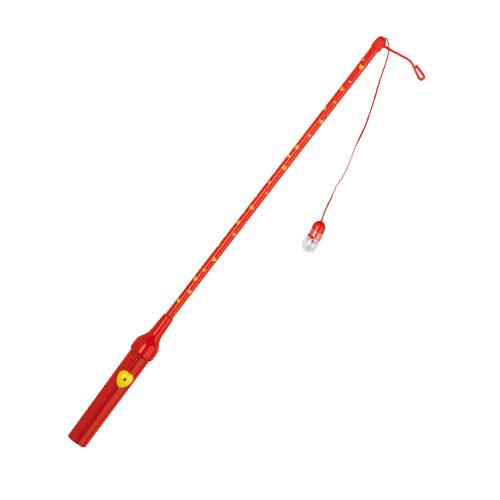 Laternenstab elektrisch 50cm rot