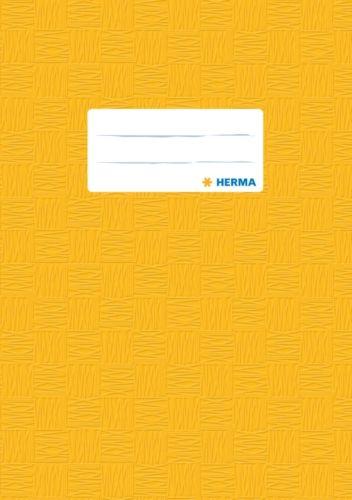 HERMA Heftschoner, DIN A4, aus PP, gelb gedeckt