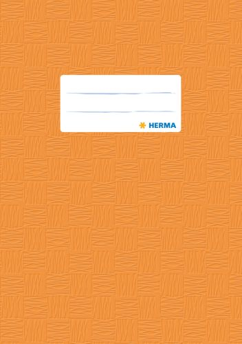 HERMA Heftschoner, DIN A4, aus PP, orange gedeckt
