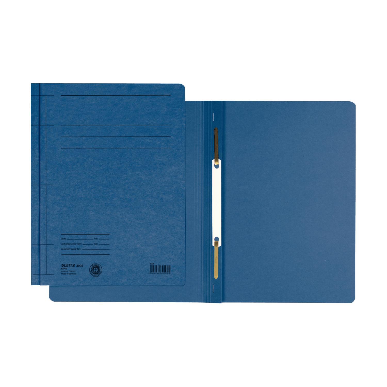 LEITZ Schnellhefter Rapid, DIN A5 hoch, Manilakarton, blau