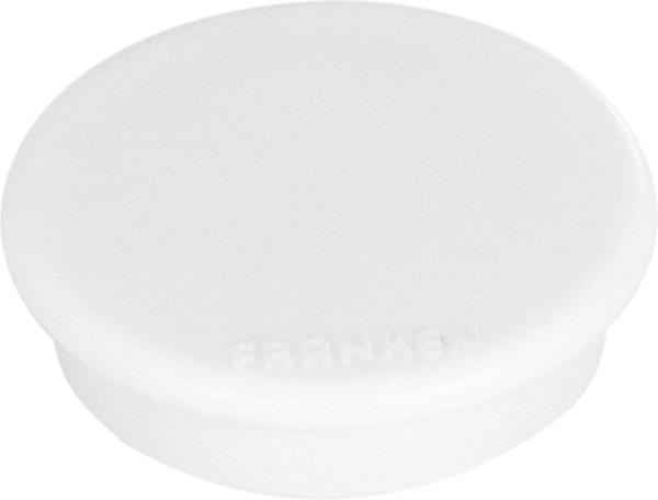 Magnet, 24 mm, 300 g, weiß