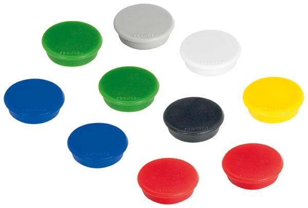 Magnet, 24 mm, 300 g, sortiert
