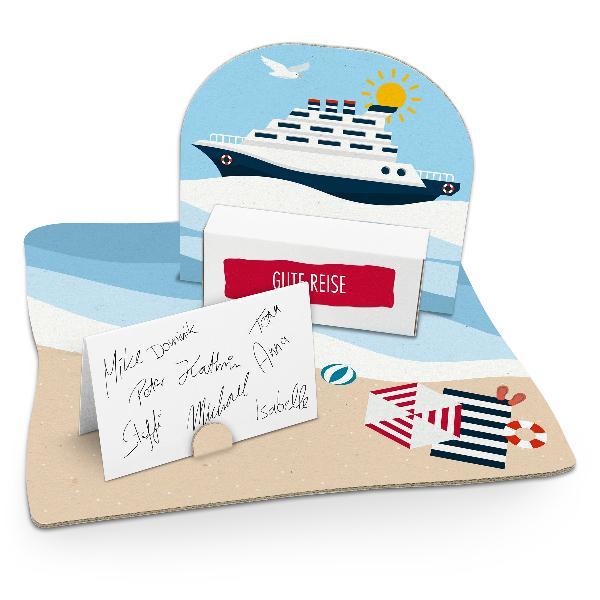 itenga Geldgeschenkverpackung Kreuzfahrtschiff (Motiv 48...