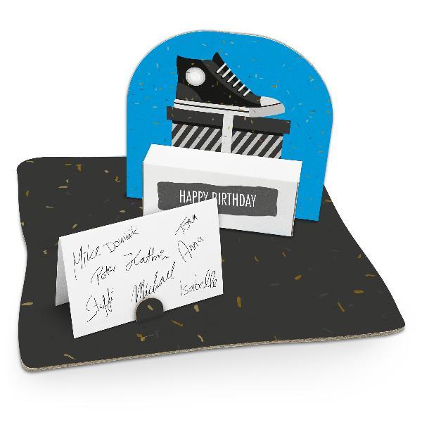 itenga Geldgeschenkverpackung Schuh Sneaker (Motiv 52) m...
