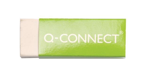Q Connect KF00236 Kunststoff Radierer weiß für Bleistift...