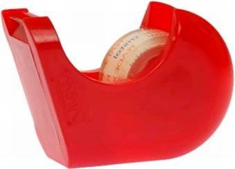 Handabroller  rot für 19mmx33m leer