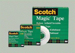 3M Scotch Klebefilm Magic 810, unsichtbar, 19 mm x 10 m