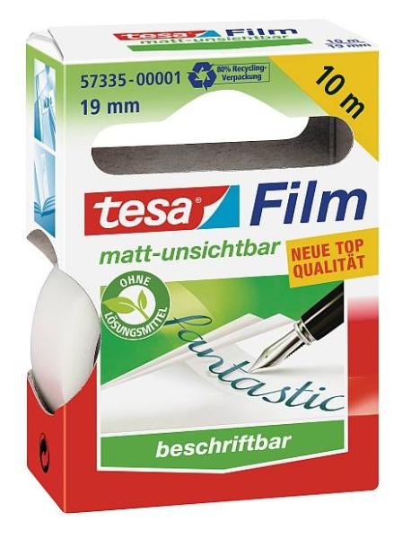 tesa Film, matt-unsichtbar, 19 mm x 10 m