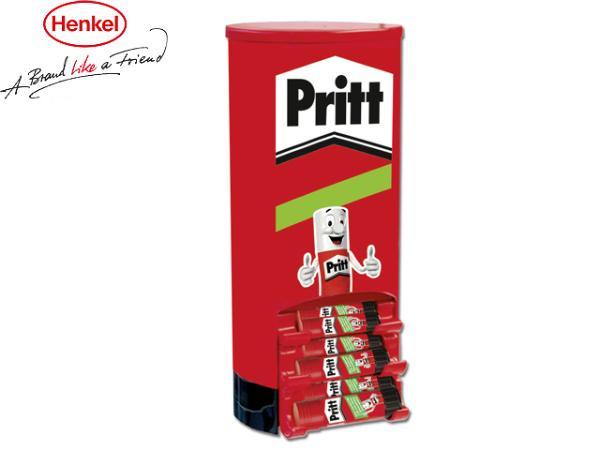 Pritt Klebestift, 69er Turm-Diplay + GRATIS SOMAT Tabs