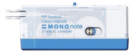 TOMBOW Korrekturroller MONO note, 2,5 mm x 4 m, blau