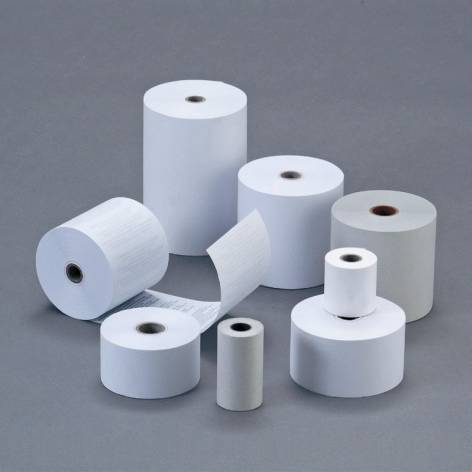 #5xThermorolle blanco 58mm/63mm/12mm 50 Meter Thermopapier